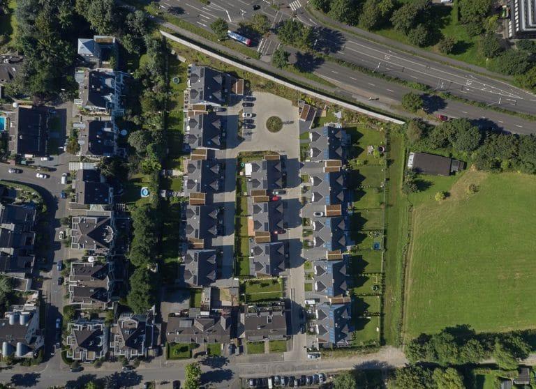 Lotharstraße Vogelperspektive - Himmels Immobilienentwicklung
