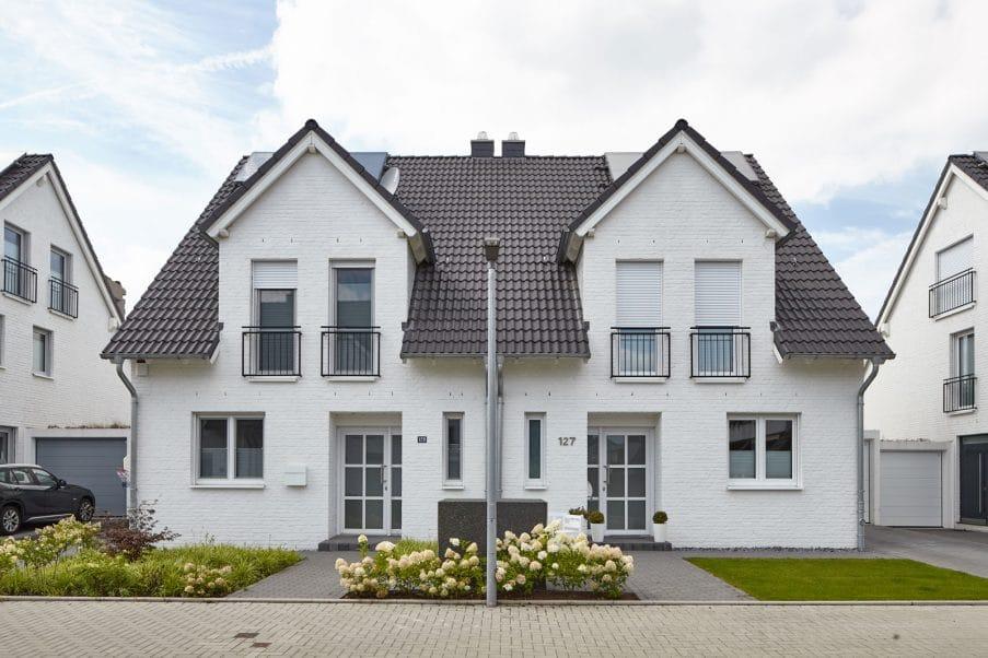 Weiße Villenzeile - Lotharstraße - Himmels Immobilienentwicklung