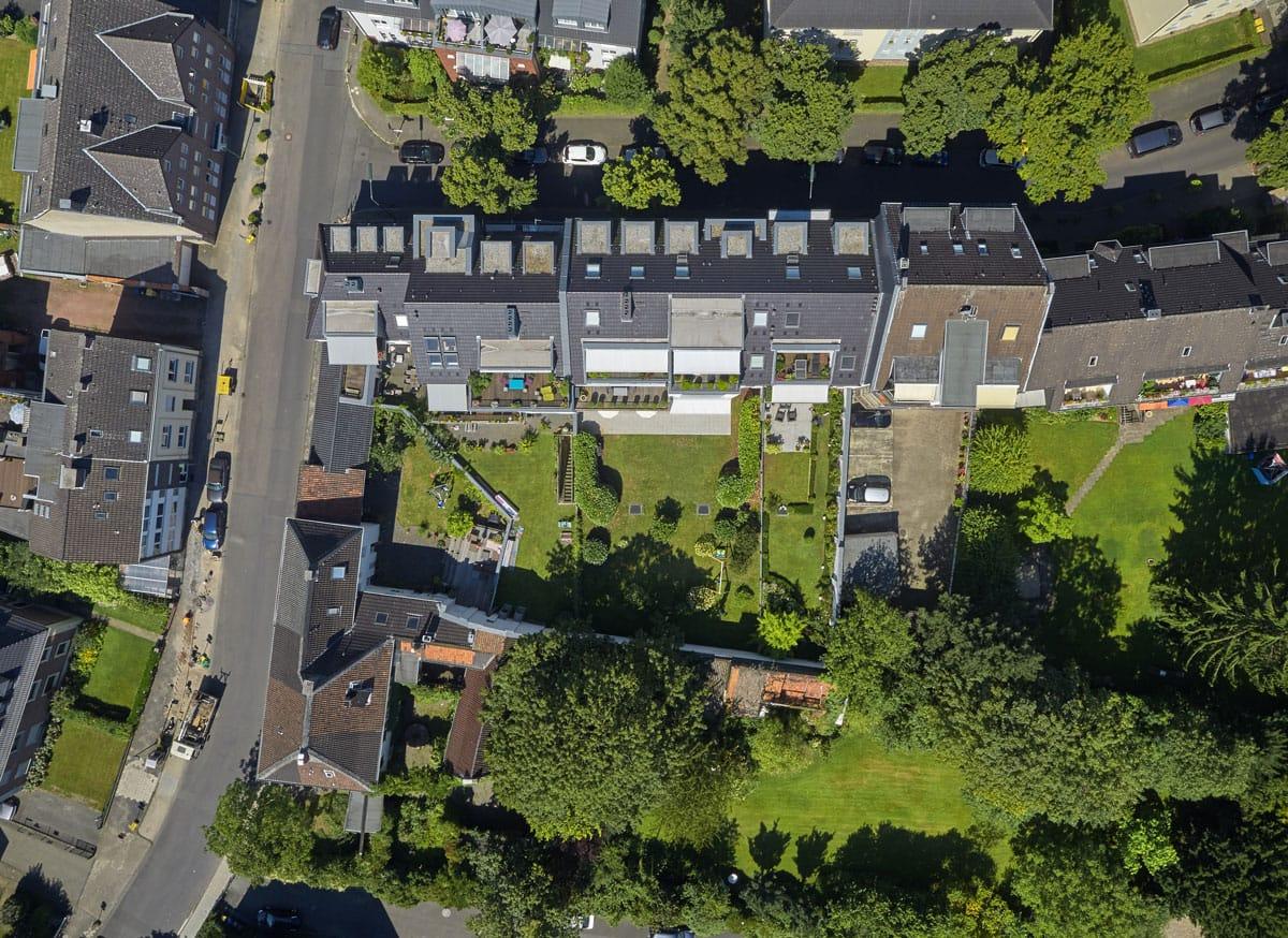 Ernst-Poensgen-Allee Vogelperspektive - Himmels Immobilienentwicklung